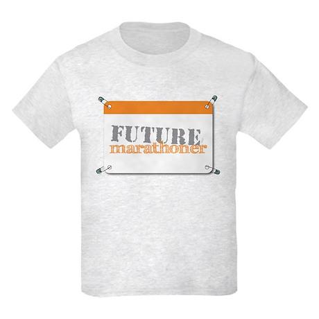Future Marathoner Orange Kids Light T-Shirt