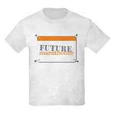 Future Marathoner Orange T-Shirt