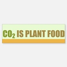 CO2 Is Plant Food Bumper Bumper Sticker