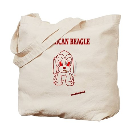American Beagle Tote Bag