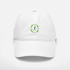 Eat, Sleep, Run, Live Ladies Baseball Baseball Cap