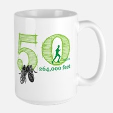 50 Mile Men's Large Mug