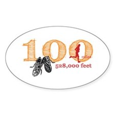 100 Mile Ultra Marathon Ladies Decal