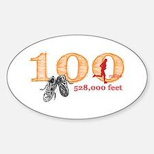 100 Mile Ultra Marathon Ladies Decal