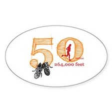 50 Mile Ultra Marathon Ladies Decal