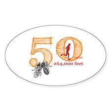 50 Mile Ultra Marathon Ladies Decal