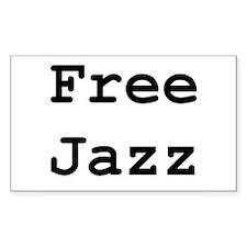 Free Jazz Decal