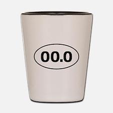 No Marathon 00.0 Shot Glass
