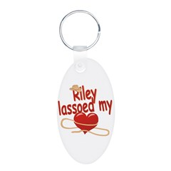 Riley Lassoed My Heart Keychains
