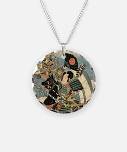 Warrior On Horse Necklace