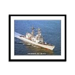 USS DAVID R. RAY Framed Panel Print