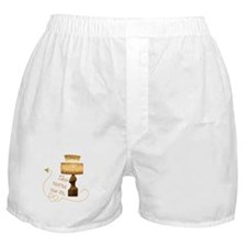 He turns me Boxer Shorts