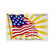 Star-Spangled Banner Rectangle Magnet