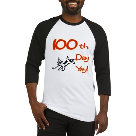 100th Day Yay! Baseball Jersey