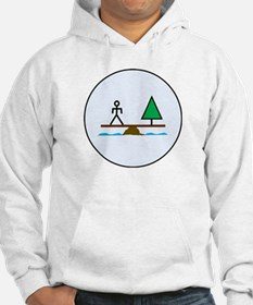 Eco-Balance Labeled Hoodie