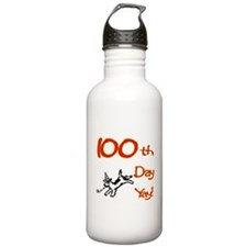 100th Day Yay! Water Bottle