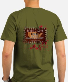 Funny Zombie hunting permit T-Shirt