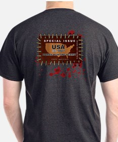 Cool Zombie hunting permit T-Shirt