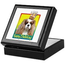 Birthday Cupcake - Cavalier Keepsake Box