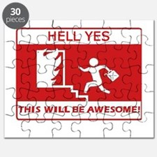 This Will Be Awesome Arson Puzzle