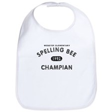 Spelling Bee Champian Bib