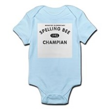 Spelling Bee Champian Infant Bodysuit