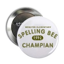 "Spelling Bee Champian 2.25"" Button"