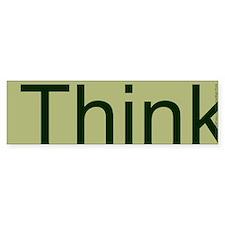 Think. Car Sticker