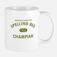Spelling Bee Champian Mug