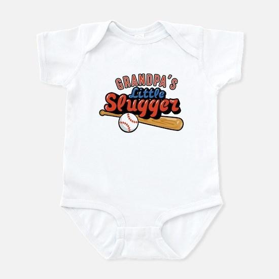Grandpa's Little Slugger Infant Bodysuit