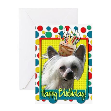 Birthday Cupcake - Crestie Greeting Card