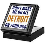 Detroit Baseball Keepsake Box