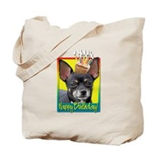Birthday Cupcake - Chihuahua Tote Bag