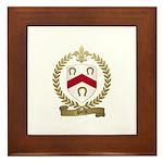 POCHE Family Crest Framed Tile