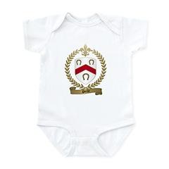 POCHE Family Crest Infant Creeper