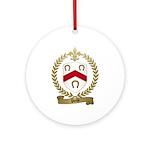 POCHE Family Crest Ornament (Round)