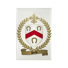 POCHE Family Crest Rectangle Magnet (10 pack)