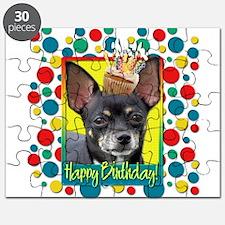 Birthday Cupcake - Chihuahua Puzzle