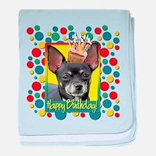 Birthday Cupcake - Chihuahua baby blanket