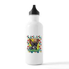 Birthday Cupcake - Chihuahua Water Bottle