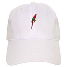 Green-Winged Macaw Baseball Cap