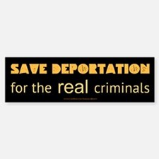 Save Deportation Sticker (Bumper)