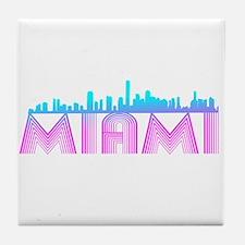 Miami Tile Coaster