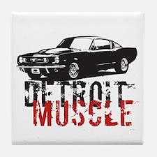 Detroit Muscle Tile Coaster