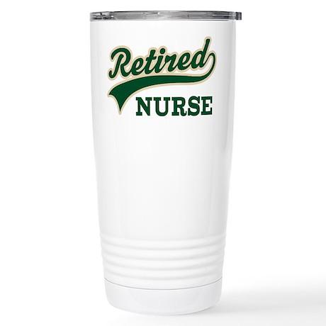 Retired Nurse Gift Stainless Steel Travel Mug