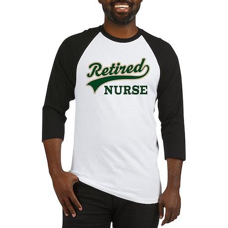 Retired Nurse Gift Baseball Jersey