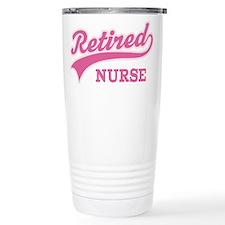Retired Nurse Gift Travel Mug