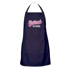 Retired Nurse Gift Apron (dark)