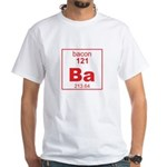 Bacon Element White T-Shirt