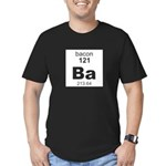 Bacon Element Men's Fitted T-Shirt (dark)